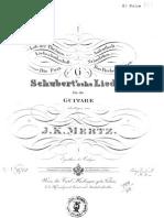 Schubert Lieder Mertz