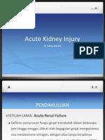Presentasi Acute Kidney Injury - Dr Sarita Amelia