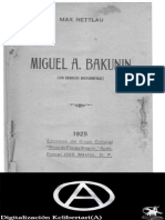 Bakunin - Max Nettlau