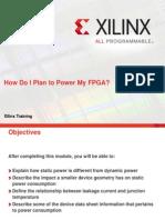 How Do i Plan to Power My Fpga