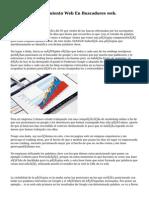 Agencia Posicionamiento Web En Buscadores web.