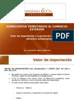 manual de valor de importacion