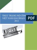 Tìm hiểu về nợ công ở VN