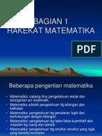 hakikat matematika.ppt