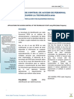 ACCESO PERSONAL RFID