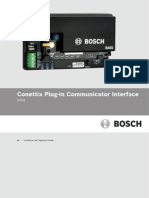Bosch B450 Conettix Interface Installation Guide