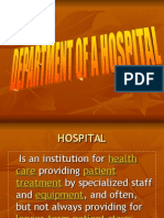 DEPARTMENT OF A HOSPITAL.ppt