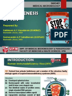 Pathogenesis of HIV