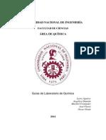 Guias y Formatos de Labortorio de Quimica UNI