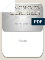 THE IMPACT OF STATCOM ON DISTANCE RELAY