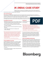Bloomberg India Banks HDFC Case Study