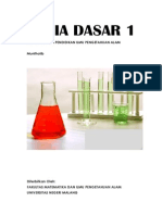 Kimia Dasar 1 IPA Lengkap