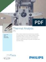 CAT_PHILLIPS, Thermal Analysis