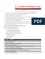 Retention Planning Package Information Sheet