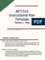instructional plan 515