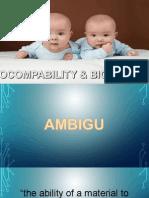 Biokompabilitas dan Biomaterial