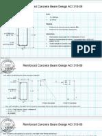 Reinforced Concrete Beam Design ACI 318 08