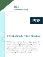 Tibco Spotfire Online Training