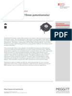 Datasheet Potentiometer Endless