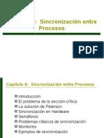 Sincronizacion entre procesos