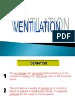 Ventilation (Chapter 1)