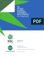 WBCIX Part1 Proceedings 2012 Belgium