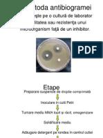 Metoda Antibiogramei