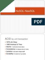 SQL-NoSQL-NewSQL