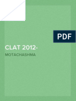 CLAT 2012- Question Paper