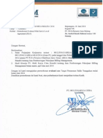 Surat Evaluasi