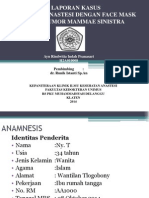Presentasi Laporan Kasus Anastesi