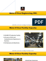Motor and Gear Engineering - Specialized in Design, Engineering and Manufacturing of Gears and Gearboxes