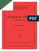 24 Legato Studies (Vocalises for Trombone)