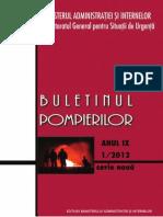 Buletinul Pompierilor 2012-1