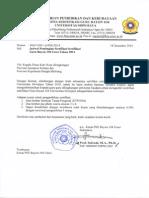 Jadwal Pembagian Sertifikat 2014 SERGUR 104 UNSRI
