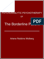 Arlene Robbins Wolberg - The Borderline Patient Copy