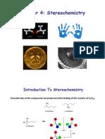 Chapter 4 Steriochemistry
