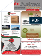 Nairobi Business Advertisers November 2014