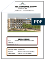 Control Systems Lesson Planner