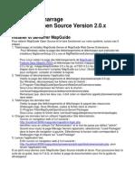 Guide de Démarrage MapGuide Open Source Version 2.0