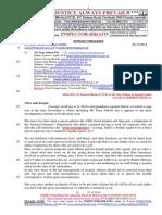 20141223-G. H. Schorel-Hlavka O.W.B. to Mr Clive Palmer & Jacqui Lambie- Re Arab BLACKSHIRTS-JIHAD Etc