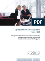 Global Operational Risk Survey Monograph