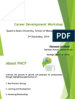 Presentation - Career Development Workshop