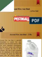 Ascend Fire Ant Bait