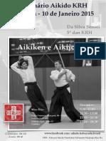 01/2015 Aikido Seminar Curitiba