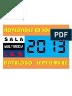 Sala Multimedia - Novedades Software Educativo - Septiembre 2013