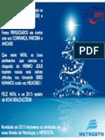 Artemec - Cartão de Natal
