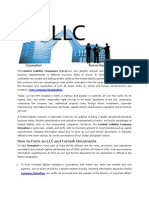 LLC Formation in India