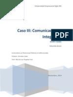 Entregable Comunicaciones Integradas - Kraft Foods (2014)