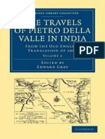 DELLA VALLE - Edward Grey (Editor), G. Havers (Translator)-Travels of Pietro Della Valle in India, Volume 2_ From the Old English Translat